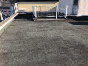 屋上の防水工事 ビフォー