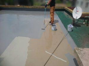 防水工事ウレタン樹脂