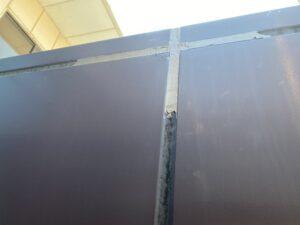 目地塗り途中のエントランス2