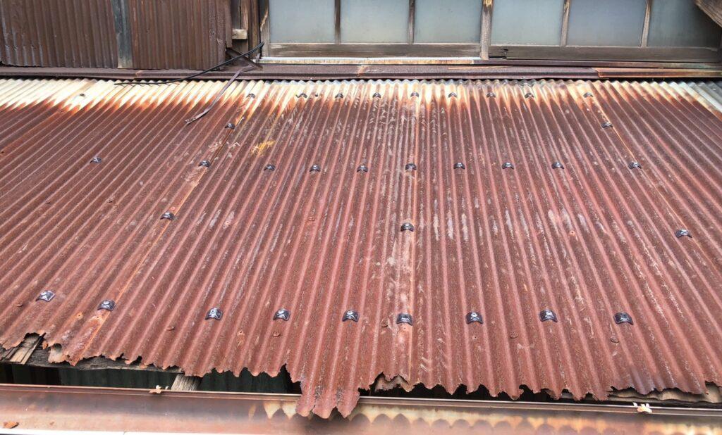 復旧後の屋根